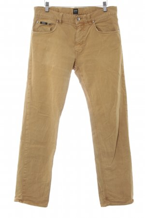 Hugo Boss Straight-Leg Jeans hellorange-beige Casual-Look
