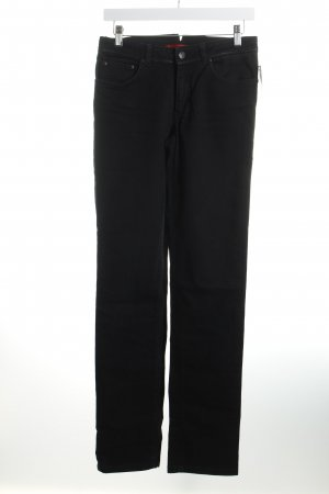 Hugo Boss Straight-Leg Jeans schwarz Casual-Look