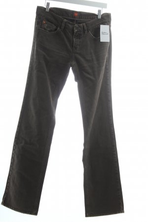 "Hugo Boss Straight-Leg Jeans ""Sherry"" grau"