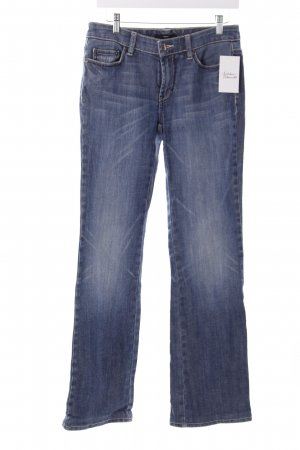 Hugo Boss Straight-Leg Jeans stahlblau Casual-Look