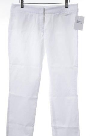 Hugo Boss Straight-Leg Jeans weiß Street-Fashion-Look