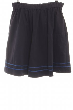 Hugo Boss Stretch Skirt black-blue casual look