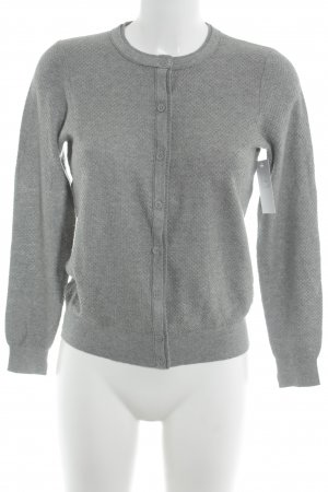 Hugo Boss Strick Cardigan grau Casual-Look