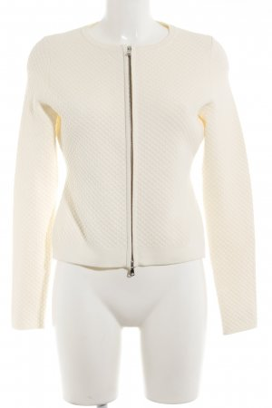 Hugo Boss Strickjacke creme Casual-Look