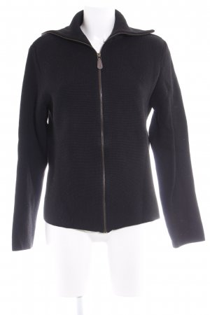 Hugo Boss Strickjacke schwarz Casual-Look