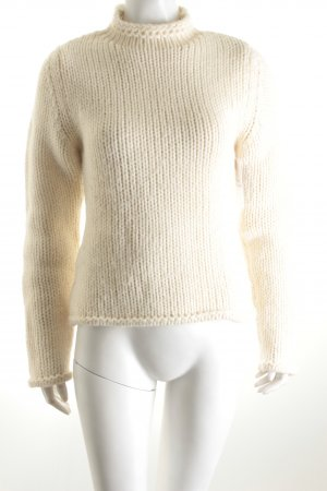 Hugo Boss Strickpullover creme Casual-Look
