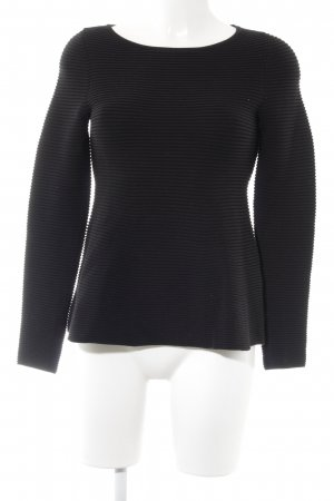 Hugo Boss Strickpullover schwarz Casual-Look