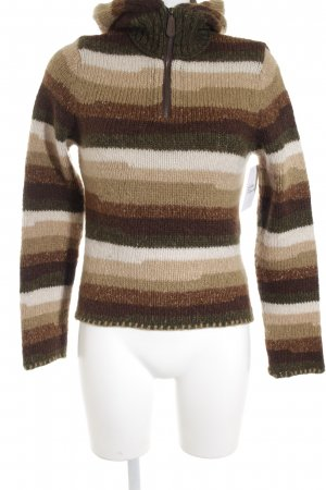 Hugo Boss Strickpullover Streifenmuster Casual-Look
