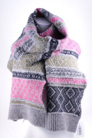 Hugo Boss Sciarpa lavorata a maglia motivo astratto stile da moda di strada