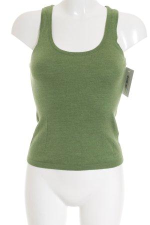 Hugo Boss Strickshirt grün Casual-Look