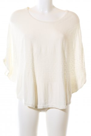 Hugo Boss Knitted Top cream elegant
