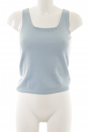 Hugo Boss Knitted Top baby blue casual look