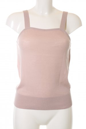Hugo Boss Top de punto rosa look casual