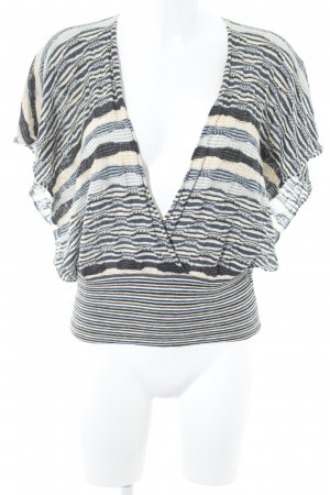 Hugo Boss Knitted Top striped pattern casual look