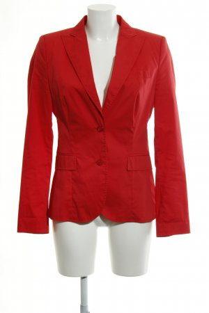 Hugo Boss Sweat Blazer red casual look
