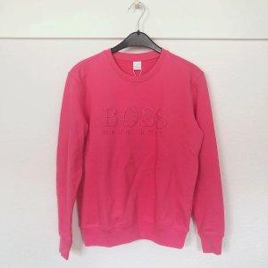 Hugo Boss Sweatshirt roze-framboosrood