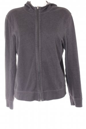 Hugo Boss Sweatjacke anthrazit Casual-Look
