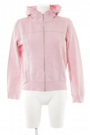 Hugo Boss Sweatjacke rosa Casual-Look