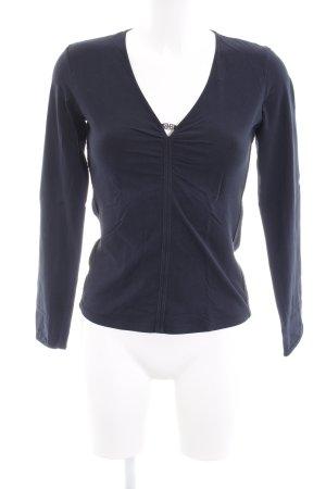 Hugo Boss Sweatshirt dunkelblau schlichter Stil