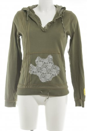 Hugo Boss Sweatshirt grüngrau Casual-Look