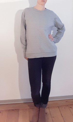 Hugo Boss Sweatshirt Pullover Oversize Boyfriend style grau, Gr. 40