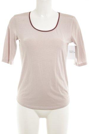 Hugo Boss T-Shirt altrosa-bordeauxrot Casual-Look