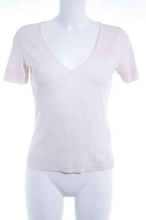 Hugo Boss T-Shirt creme Casual-Look