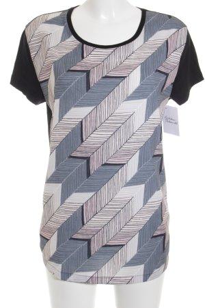 Hugo Boss T-Shirt Fischgrätmuster Casual-Look