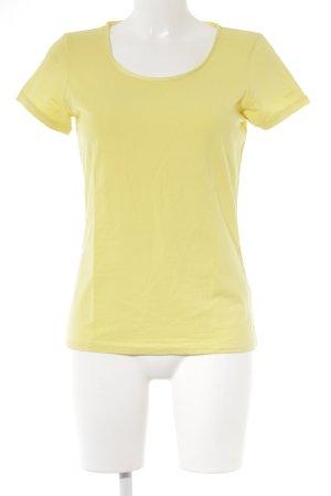 Hugo Boss T-Shirt gelb Casual-Look