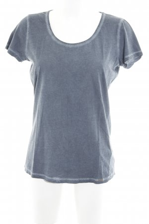 Hugo Boss T-Shirt graublau-blassblau Casual-Look
