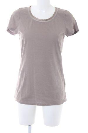 Hugo Boss T-Shirt graubraun Casual-Look