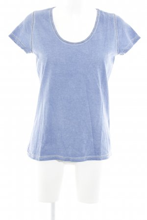 Hugo Boss T-Shirt himmelblau Casual-Look