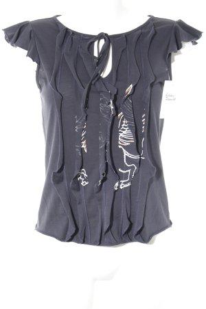 Hugo Boss T-Shirt Motivdruck Casual-Look