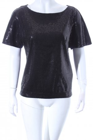 Hugo Boss T-Shirt schwarz Eleganz-Look