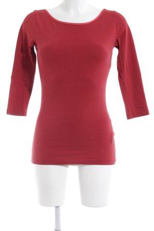 Hugo Boss T-Shirt ziegelrot Casual-Look
