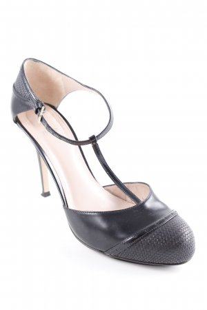 Hugo Boss T-Steg-Pumps schwarz Elegant