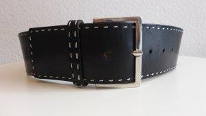 Hugo Boss Waist Belt black leather