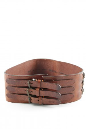 Hugo Boss Waist Belt cognac-coloured casual look