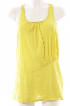 Hugo Boss Tank Top yellow athletic style