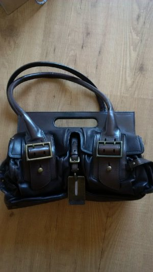 Hugo Boss Carry Bag anthracite leather