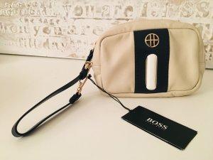 Hugo Boss Pochette beige clair cuir