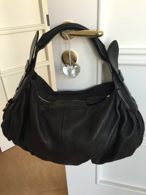 Hugo Boss Tasche Leder schwarz