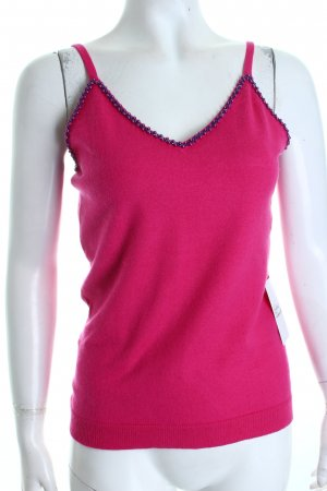 Hugo Boss Top pink-blau Street-Fashion-Look