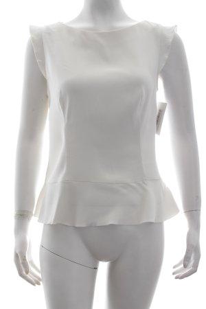 Hugo Boss Top wollweiß minimalistischer Stil