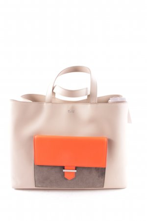 "Hugo Boss Sac fourre-tout ""Prisca Colorblocking Tote Light Beige"""