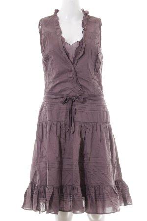 Hugo Boss Trägerkleid dunkelviolett-lila Casual-Look