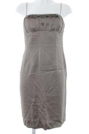 Hugo Boss Trägerkleid graubraun Elegant