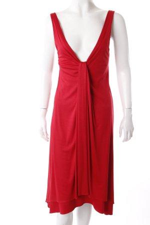 Hugo Boss Trägerkleid rot