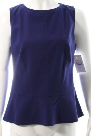 Hugo Boss Trägertop blauviolett Eleganz-Look