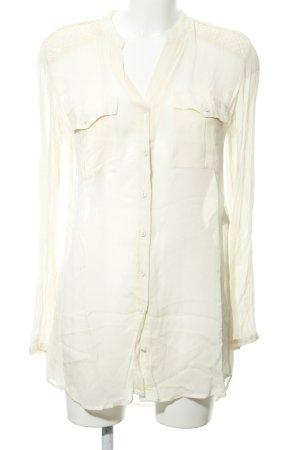 Hugo Boss Transparante blouse room casual uitstraling